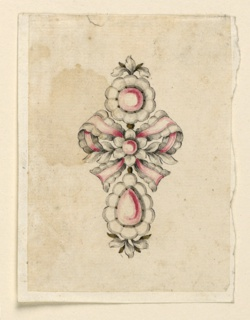 Drawing, Design for a brooch, ca. 1780
