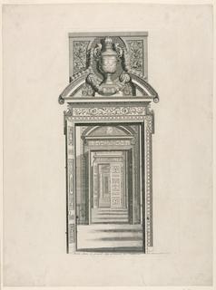 Print, Doorway, Apartment of Lou, 1710