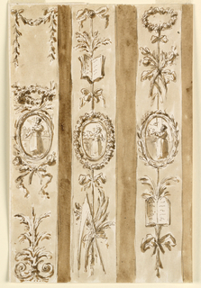 Designs for Decorated Pilasters.