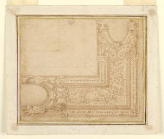 Drawing, Design for a Ceiling, 1550–75