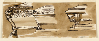 Drawing, Sarcophagi
