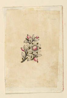 Drawing, Design for a pin, 1760–70