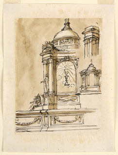 Drawing, Designs for a tabernacle
