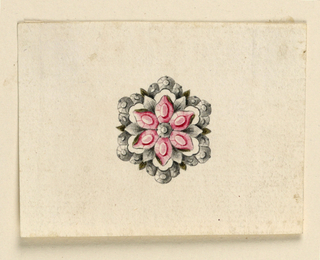 Drawing, Design for a brooch, ca. 1760