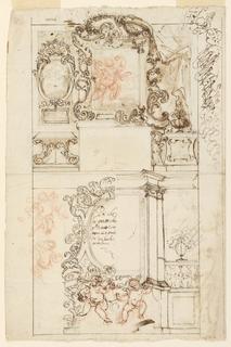 Drawing, Altar, 1650–75