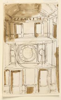 Drawing, Window wall elevations