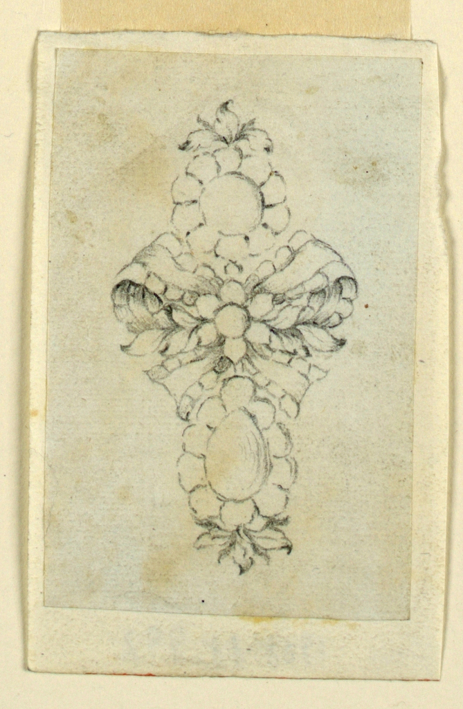 Drawing, Earring, ca. 1775