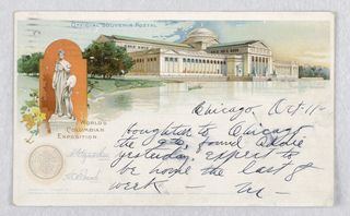 Souvenir of the World's Columbian Exposition.