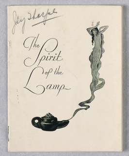 Booklet, Amorskin Corporation/The Spirit of the Lamp