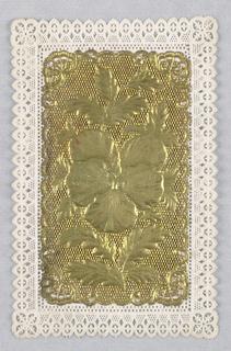 Ephemera, ca. 1900