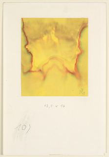 Drawing, Composition in Yellow, 1929