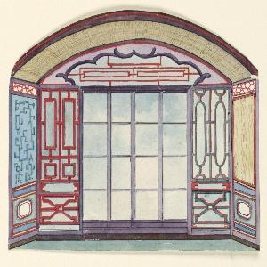 Drawing, Window Alcove