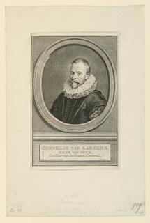 Print, Portraot of Cornelius van Aarsens
