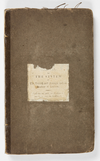 Front cover text:  //obscured word, of the System of the British and Foreign School Society of London
