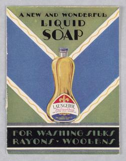 Booklet, Laungerol Liquid Soap