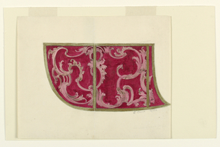 Drawing, Design for Side of a Coach, 1756