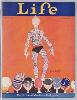 Magazine Cover, Life