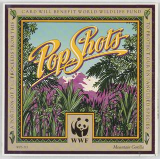 Pop-up Card, Mountain Gorilla