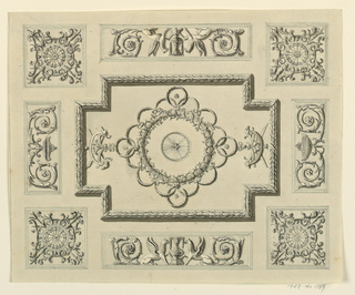 Drawing, Ceiling Design, 1815–22