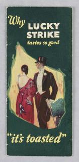 Booklet, Lucky Strike/Why Lucky Strike Tastes So Good