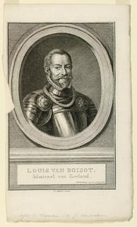 Print, Portrait of Louis van Boisot