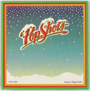 Pop-up Card, Santa's Sleigh Ride