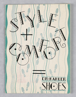 Booklet, Dr. Kahler Shoes/Style & Comfort