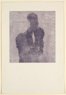 Drawing, Composition in Violet, 1928