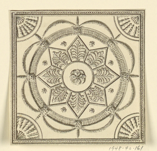 Drawing, Ceiling Decoration, 1815–22