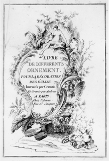 Print, Title Page, late 17th–early 18th century