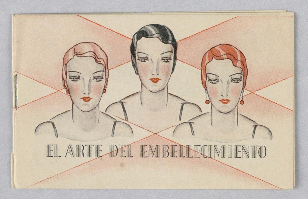 Booklet, Tangee Lipstick/El Arte del Embellecimiento