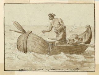 Drawing, Fisherman from Gaeta, Italy, 1800–1825