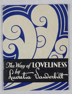 Booklet, Lucretia Vanderbilt Toiletries /The Way of Loveliness