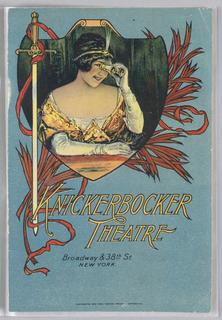 Booklet, Knickerbocker Theatre/Djer-Kiss/Kelly Springfield Tires/Murad Cigarettes