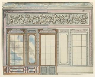 Drawing, Entrance Hall, Royal Pavilion, Brighton