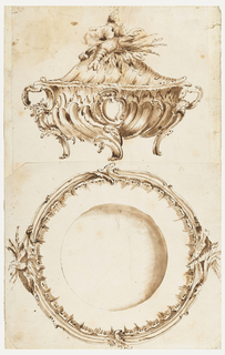 Drawing, Design for a Tureen and a Platter
