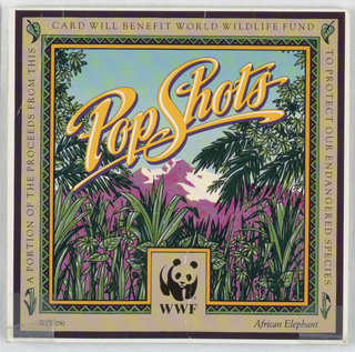 Pop-up Card, African Elephant