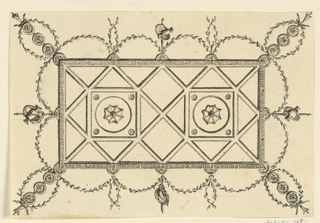 Drawing, Ceiling Design, 1815–20