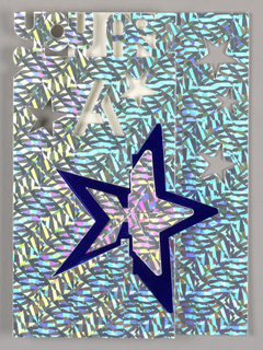 Greeting Card, You Are a Star, 1996