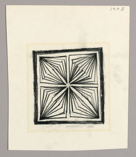 Drawing, Untitled, 1965