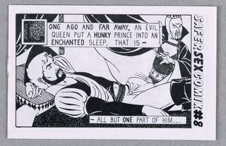 Comic Book, Safer Sex Comix #8, 1986