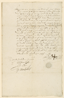 Document [Debtor's Note?]: autographed manuscript