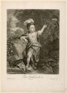 Print, The Lord Euston, 1689