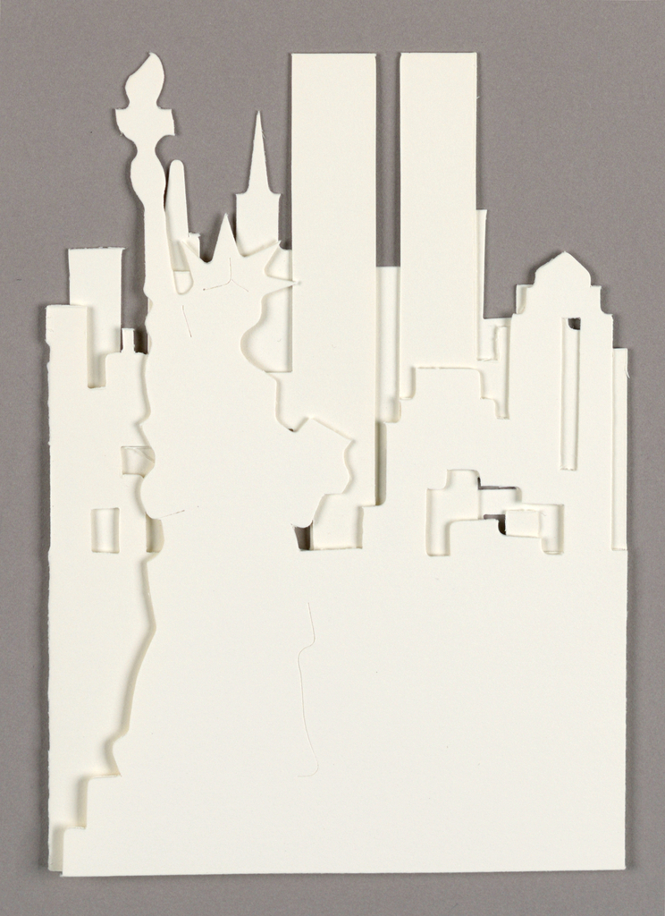 Cut-out of Statue of Liberty, New York City