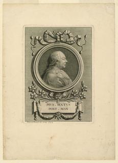 Print, Pope Pius VI (1775-1799)