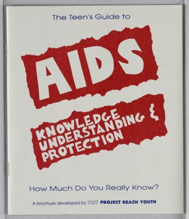 Booklet, AIDS: Knowledge, Understanding & Protection, 1993