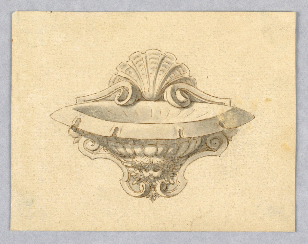 Drawing, Design for a Basin