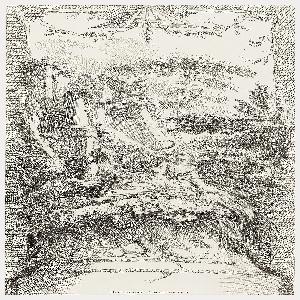 Print, Hommage Champètre (Pastorale), from Nouveaux morceaux pour des Paravants (New Designs for Screens)