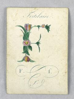 Alphabet Card