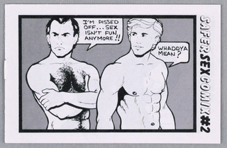 Comic Book, Safer Sex Comix #2, 1986